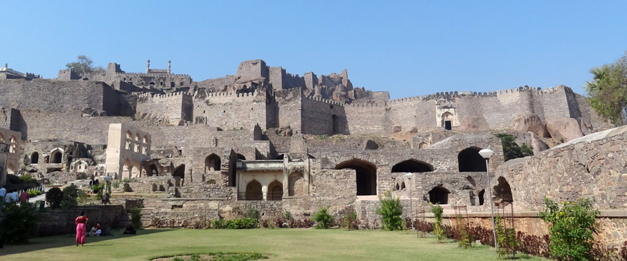 Golconda_Fort